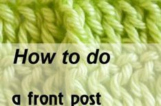 Crocheting for beginners. Learn how to crochet with our tutorials | Mycrochetpattern