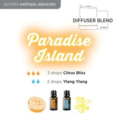 I love Ylang Ylang! here's a great mix for your diffuser. Try blending it with Citrus Bliss essential oil. www.hayleyhobson.com