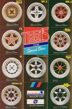 Speed Star Wheel.