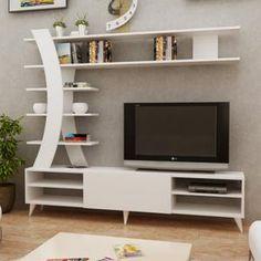 Modern Tv Unit Designs, Wall Unit Designs, Modern Tv Wall Units, Living Room Tv Unit Designs, Modern Tv Cabinet, Living Room Wall Units, Tv Unit Decor, Tv Wall Decor, Wall Tv