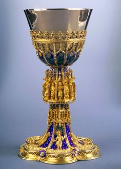 Chalice from Pozsony     Central Europe ~ early 15th century ~ Church of St. Martin in Bratislava