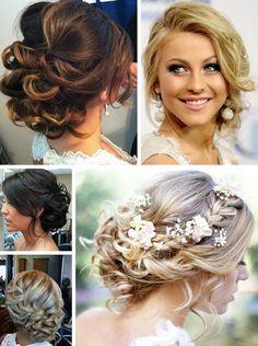 Fryzury na wesele upięcia na bok Hair, Wedding, Fashion, Valentines Day Weddings, Moda, Fashion Styles, Weddings, Fashion Illustrations, Marriage