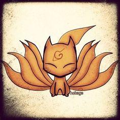 kyuubi nine tailed fox #naruto #chibi | Flickr - Photo Sharing!