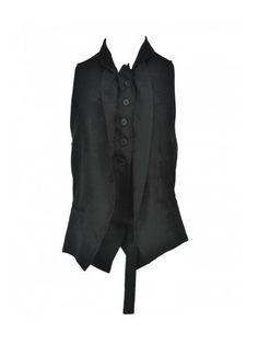 ANN DEMEULEMEESTER Ann Demeulemeester Embroidered Waistcoat. #anndemeulemeester #cloth #https: