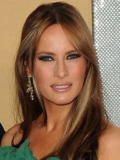 Melania Trump - AFTER AFTER Melania Knauss Trump, John Trump, Donald Trump, Trump Hair, First Ladies, First Lady Melania Trump, Ivanka Trump, New Hair, Hair Makeup