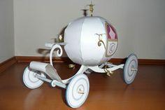 Papercraft - Cinderella's Coach - Carriage | Papercraft4u | Free Papercrafts, Paper Toys, Paper Models, Gratis