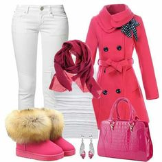 Pink pink and more pink Resale Clothing, Pretty In Pink, Cool Style, Polyvore, Cute, Jackets, Clothes, Fashion Ideas, Disney