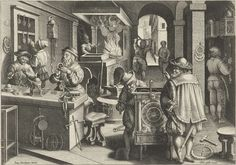 Klokkenmakers, Philips Galle, ca. 1589 - ca. 1593