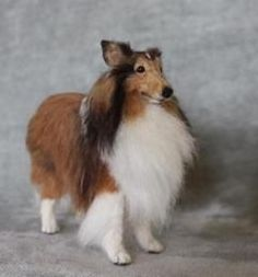"""Needle felted dog. VEGANIZE this, please! Art and creativity should NEVER support or condone animal cruelty and exploitation. Make sure your art/craft supplies aren't sourced from animals (such as """"wool"""" felt, alpaca fur or silkworm thread) and that they reflect a true reverence for life. Always use animal-free alternatives. Be kind. Be fair. Be vegan."""