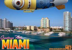 Despicablimp in Miami via www.Facebook.com/DespicableMe
