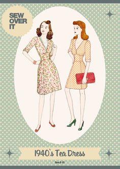 Sew over it Tea dress pattern