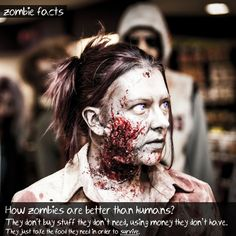Zombie Facts #2  by GreyZombie.com