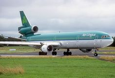 Aer Lingus MD-11 Taxiing