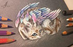 Ratty and kitty by AlviaAlcedo on @DeviantArt