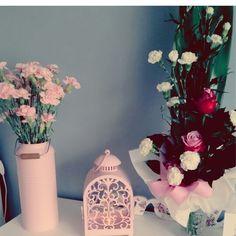 Decoration home pink pastel