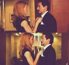 Pepper and Tony. Pepperony shipper