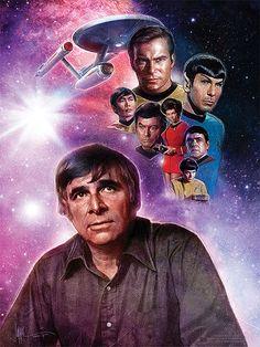 Gene Roddenberry, creator of Star Trek!
