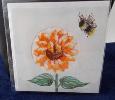 sunflower greetings card by LittleInsect on Etsy £3.50