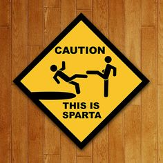 Placa Decorativa This is Sparta This Is Sparta Meme, Daydream, How To Look Pretty, Geek Stuff, Funny, Twists, Phone, Sweet, Doormats