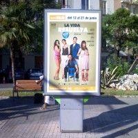 Publicidad mupis Valencia – LA VIDA RESUELTA