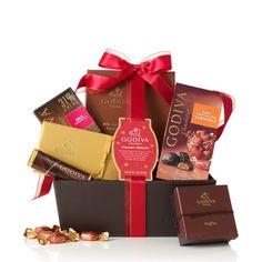 Holiday Sweets Gift Basket #GODIVA ($56.25)