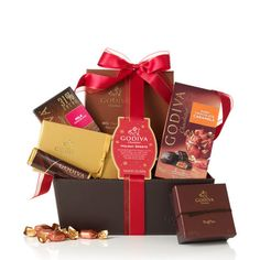 Holiday Sweets Gift Basket #GODIVA ($56.25)