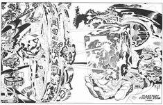 Quand la CIA a repris un projet dessiné par Jack Kirby.