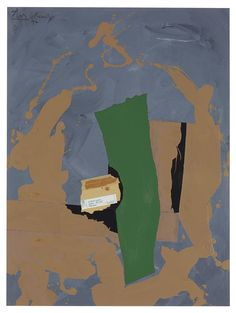 Arches Cover, 1976 by Robert Motherwell Robert Motherwell, Franz Kline, Colorful Abstract Art, Large Canvas Art, Oil Painting Abstract, Action Painting, Abstract Painters, Minimalist Art, Abstract Expressionism