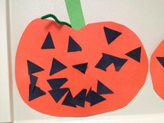Here is a photo from a KinderCare toddler classroom where the young students were decorating jack-o-lanterns in honor of Halloween.