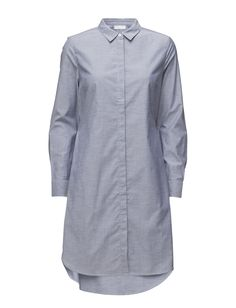 DAY - Astra Elastic at the back Concealed button placket Point collar Stretch fabric Two button cuffs Chic Elegant Excellent quality and fit Dress Dresses Shirt Dress Point Collar, Stretch Fabric, Cuffs, Raincoat, Shirt Dress, Blazer, Button, Elegant, Chic