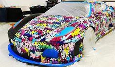 RM Southeby's versteigert einen Ferrari, den Ben Levy bemalt hat   Wenn ein Ferrari versteigert wird, ist der Erlös per se schon recht hoch. Wurde das Auto dann auch noch von einem Künstler bearbeitet, wird der ...  #Artist #auto #car