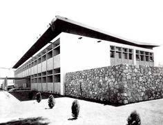 Hospital General de Mexicali (ISSSTE), Lerdo de Tejada 1580  Centro, Mexicali, Baja California, Mexico 1961  Arqs. Alejandro Prieto, Imanol  Ordorika y Jokin Ordorika Bengoechea