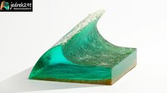 How to make epoxy waves very easily. Making your own form. Resin Art, Simple Way, Epoxy, Make Your Own, The Creator, Waves, Crafty, Tube, Magic
