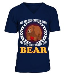 """# BEAR Animals Lover .  HOW TO ORDER:1. Select the style and color you want2. Click """"Buy it now""""3. Select size and quantity4. Enter shipping and billing information5. Done! Simple as that!TIPS: Buy 2 or more to save shipping cost!This is printable if you purchase only one piece. so don't worry, you will get yours.Guaranteed safe and secure checkout via: Paypal 
