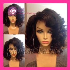 Find More Wigs Information about Brazilian virgin full lace human hair bob wig & glueless lace front wig with baby hair bleached knots short wigs for black women,High Quality wig cap,China wig back Suppliers, Cheap wig product from Glamour Fashion Hair CO.,LTD on Aliexpress.com