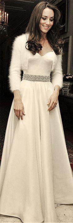 Kate's reception dress.