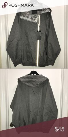 Zara Men's Rain Jacket Hoodie Zara Man  Rain jacket windbreaker hoodie poncho  Water repellant wind repellant seamsealed  Reflector lined zipper  Size Large  NWT   Check out my other items! I ship same or next day📬 Thanks for looking ! Zara Jackets & Coats Raincoats