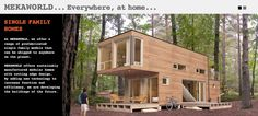 MEKAWORLD prefabricated homes/Canada