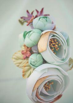 seafoam floral crown, bridal flower hair crown, woodland wedding, sea foam flower, milinery flower