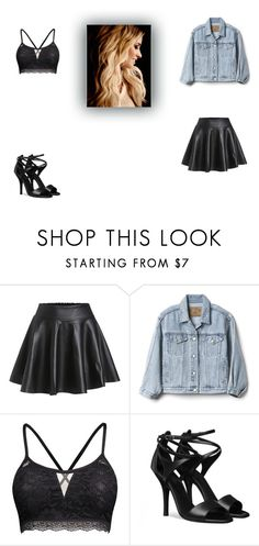 """""""Demi Lovato inspired outfit"""" by aliyah-238-daniel ❤ liked on Polyvore featuring Gap, celebrity and contestentry"""