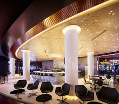 An immersive Lighting design for the Lac-Leamy Casino by Lightemotion : illumni – The World Of Creative Lighting Design