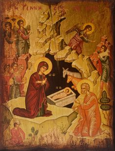 Christopsomo: A very special Greek Christmas bread for the holidays! Greek Christmas, Christmas Bread, Christmas Books, Sign Of The Cross, The Cross Of Christ, Byzantine Icons, Religious Icons, Holy Family, Orthodox Icons