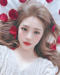 pony, ulzzang, and makeup image Korean Natural Makeup, Korean Makeup Look, Asian Makeup, Korean Beauty, Asian Beauty, Natural Wedding Makeup, Bridal Makeup, Bora Lim, Pony Makeup