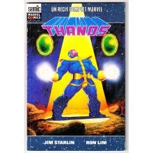 The Thanos Quest Book One of Two, Marvel Comics 1990 Infinity Gauntlet origin by all star creative team of Jim Starlin with pencils by Ron Lim Comic Book Covers, Comic Book Heroes, Comic Books, Star Comics, Avengers Comics, Marvel Characters, Marvel Movies, X Men, Saga