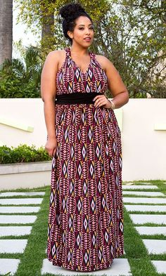 bd0faf310f7 Plus Size Devin Maxi Dress  bbw  curvy  fullfigured  plussize  thick