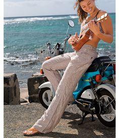 summery linen pants (for general wardrobe inspiration)