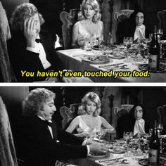 """""""...THERE I TOUCHED IT!"""" -- from movie YOUNG FRANKENSTEIN"""