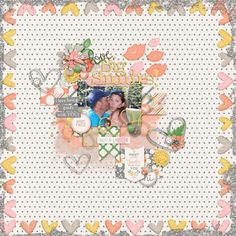 Layout using {Sweet On You} Digital Scrapbook Templates by Two Tiny Turtles available at Scrap Stacks http://scrapstacks.com/shop/Sweet-On-You.html #twotinyturtles #digiscrap #digitalscrapbooking