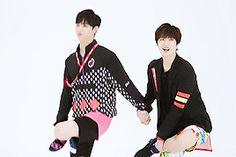 JB and Youngjae GIF