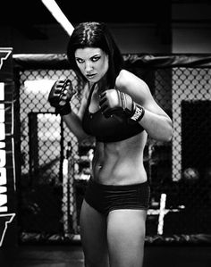 Gina Carano is a strong woman of MMA!!!! Focus........determination....strength...not just for boys anymore :) Fury Morph Inspiration